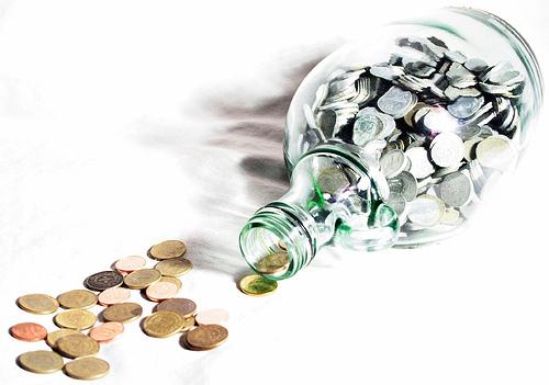 bottled-coins
