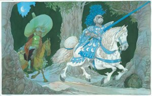Childrens-Illustration-DonQuixote
